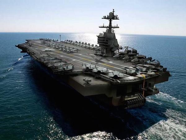 Tàu sân bay USS Gerald R. Ford Mỹ gặp lỗi với hệ thống phóng máy bay ảnh 1