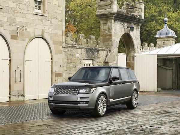 SVAutobiography là chiếc xe sang trọng nhất trong dòng Range Rover