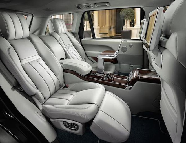 Những đặc điểm sang trọng tập trung trong nội thất của chiếc xe