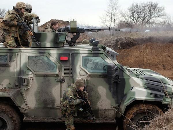 Ukraine cho phép các binh lính nước ngoài diễn tập ở nước này trong năm 2015
