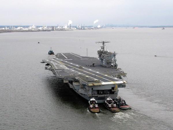 USS Ford sẽ là chiếc tàu sân bay thế hệ mới duy nhất sử dụng radar DBR