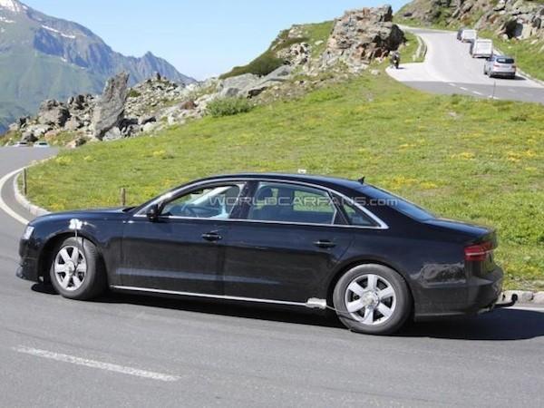 Audi A8 mới sẽ được cải thiện mạnh mẽ về động cơ ảnh 1