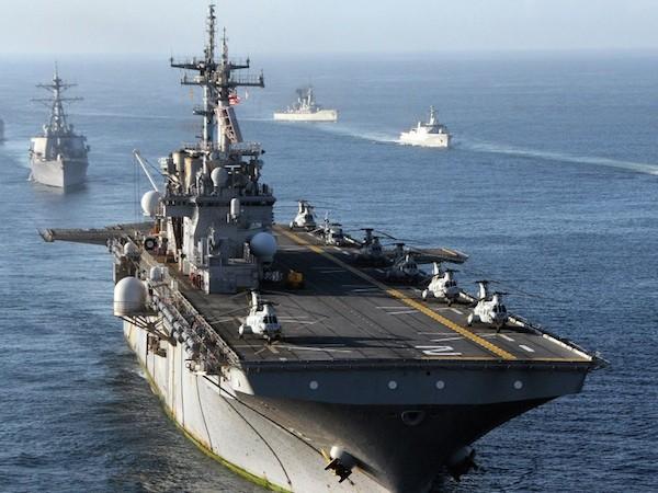 Mỹ triển khai 60% hạm đội hải quân đến Thái Bình Dương và Ấn Độ Dương ảnh 1