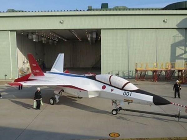 Nguyên mẫu chiến đấu cơ tàng hình F-3 của Nhật Bản