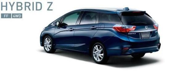 Honda chính thức trình làng mẫu xe Shuttle 2015 ảnh 5