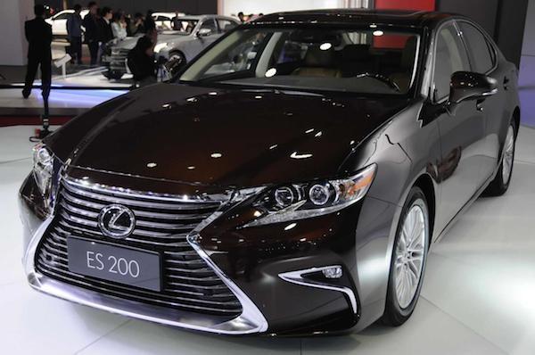 """""""Xế sang"""" Lexus ES 2016 chính thức xuất hiện"""