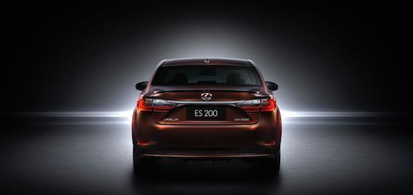 """""""Xế sang"""" Lexus ES 2016 chính thức xuất hiện ảnh 8"""