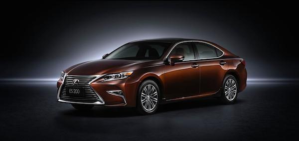 """""""Xế sang"""" Lexus ES 2016 chính thức xuất hiện ảnh 6"""