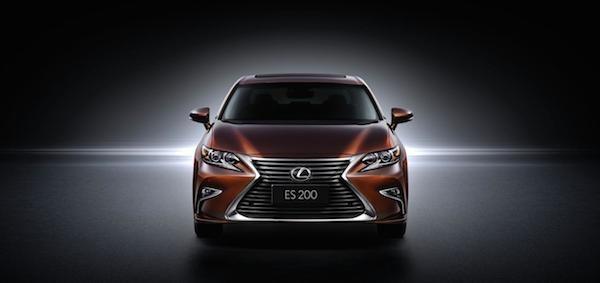 """""""Xế sang"""" Lexus ES 2016 chính thức xuất hiện ảnh 5"""