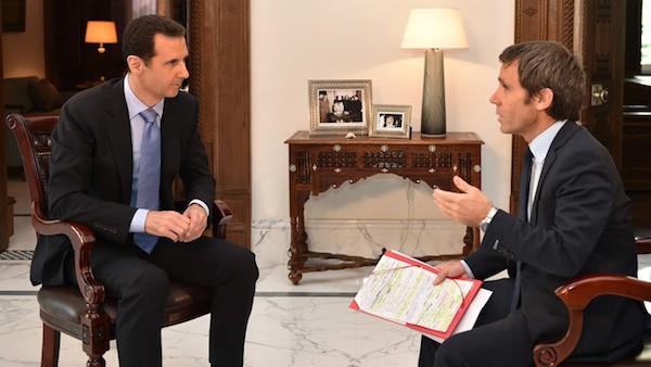 Tổng thống Assad trả lời phỏng vấn trên kênh truyền hình France 2 TV