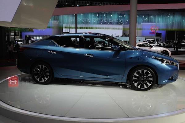 Nissan Lannia phiên bản sản xuất chính thức xuất hiện ảnh 3