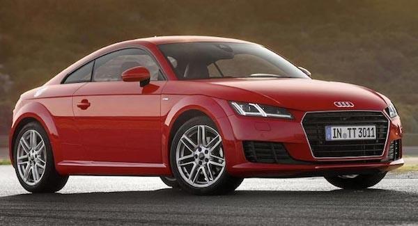 Audi TT sẽ có phiên bản cơ sở mới ảnh 1