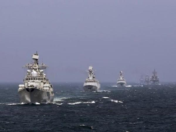 Đây là lần đầu tiên Nga- Trung tập trận ở Địa Trung Hải