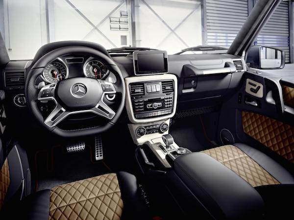 Mercedes-Benz G-Class mới: Thể thao và mạnh mẽ