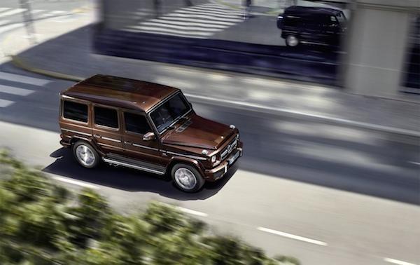 Mercedes-Benz G-Class mới: Thể thao và mạnh mẽ ảnh 10