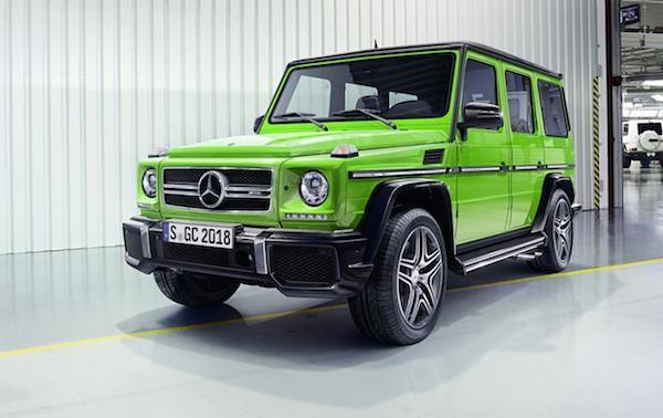 Mercedes-Benz G-Class mới: Thể thao và mạnh mẽ ảnh 7