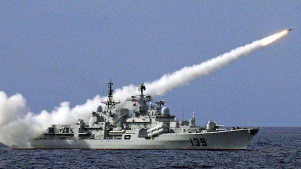 Đây là lần đầu tiên Nga - Trung tập trận cùng nhau tại Đại Trung Hải