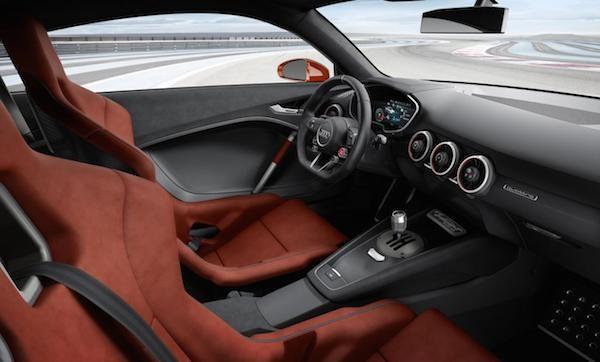 Audi TT Clubsport Turbo: Thể thao và sang trọng