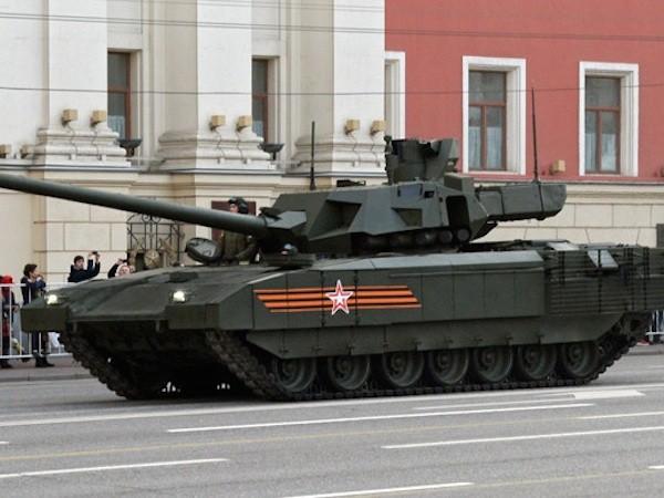 Xe tăng Armata sẽ mạnh hơn với pháo nòng 152mm và đạn tấn công mới