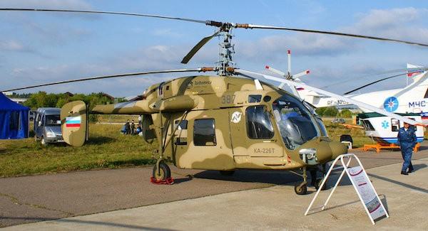 Ka-226T là phiên bản nâng cấp hiện đại hơn từ trực thăng đa nhiệm Ka-226