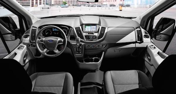 Ford chính thức trình làng mẫu xe Transit 2016 mới ảnh 2