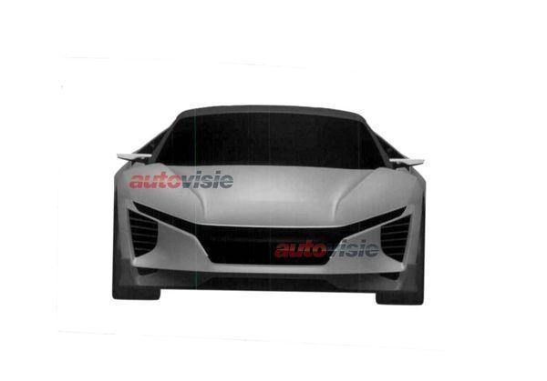 Honda tiết lộ thiết kế của mẫu xe thay thế S2000 ảnh 2