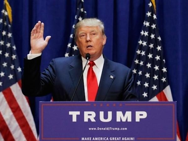 Tỉ phú Donald Trump tuyên bố chạy đua tổng thống Mỹ năm 2016 ảnh 1
