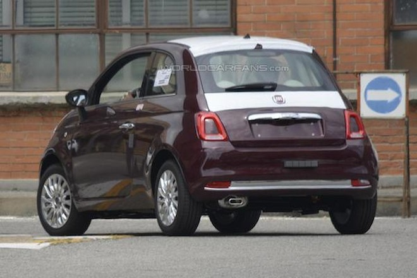 """Fiat 500 lộ ảnh """"nóng"""" trước ngày ra mắt ảnh 2"""