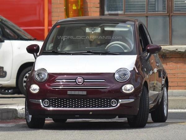 """Fiat 500 lộ ảnh """"nóng"""" trước ngày ra mắt"""