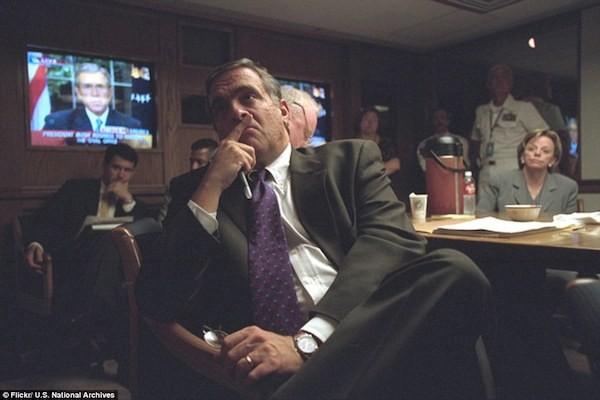 Chùm ảnh chưa từng công bố về phản ứng của nhà Trắng sau vụ khủng bố 11-9 ảnh 16