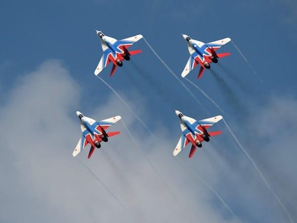 Nga huy động cả 5 đội bay biểu diễn tới triển lãm MAKS-2015 ảnh 4