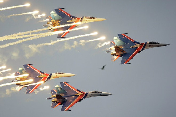 Nga huy động cả 5 đội bay biểu diễn tới triển lãm MAKS-2015 ảnh 2
