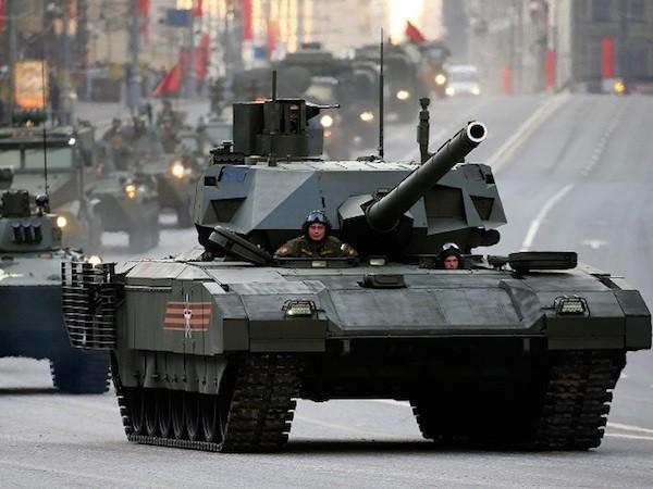 Nhà sản xuất tiết lộ thêm bí mật của siêu xe tăng T-14 Armata ảnh 1