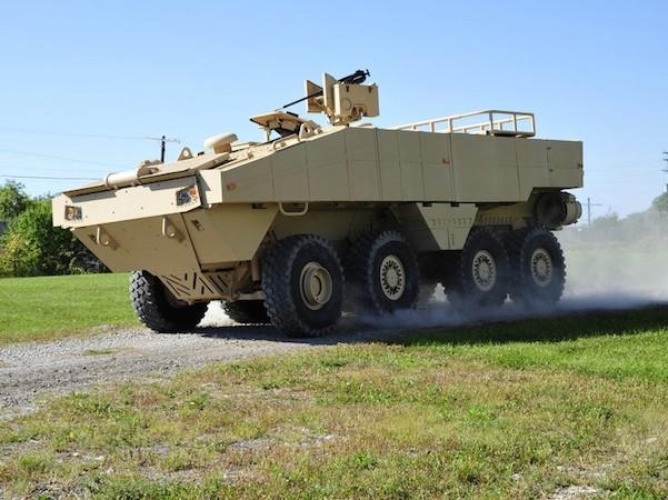 Lockheed Martin ra mắt xe đổ bộ mới cho lính thuỷ đánh bộ Mỹ ảnh 1