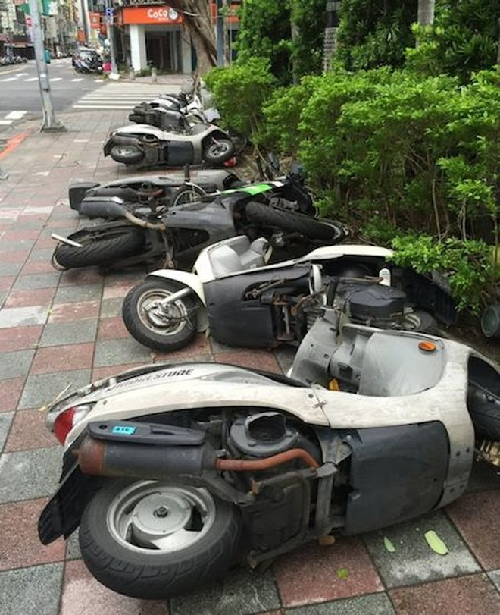 Siêu bão Dujuan đổ bộ Đài Loan, làm 2 người thiệt mạng ảnh 2
