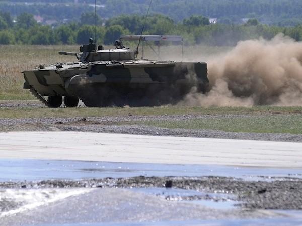 Ấn Độ - Nga cân nhắc hợp tác phát triển xe chiến đấu bộ binh mới ảnh 1