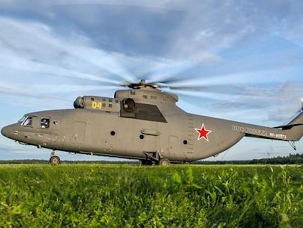 Nga - Trung Quốc kí thoả thuận phát triển trực thăng hạng nặng ảnh 1