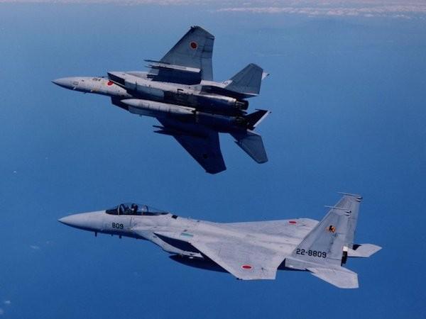 Chiến đấu cơ của Nhật Bản thường xuyên phải chặn các máy bay Trung Quốc xâm phạm không phận
