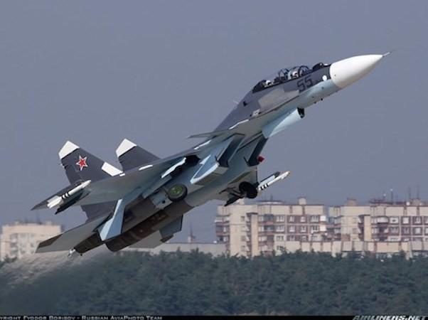 Chiến đấu cơ Su-30SM của Nga