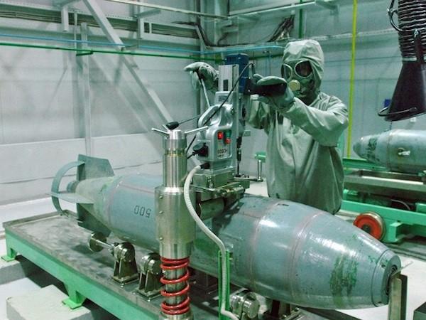 Nga cam kết tiêu huỷ toàn bộ kho vũ khí hoá học vào năm 2020