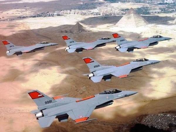 Ai Cập đã nhận tổng cộng 20 chiến đấu cơ F-16 của Mỹ từ năm 2013