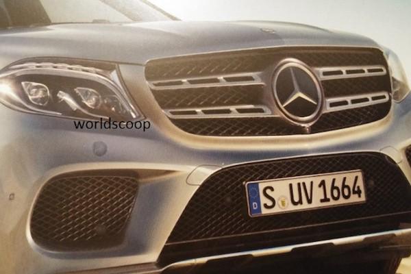 """""""Xế sang"""" Mercedes-Benz GLS 2016 lộ ảnh đẹp long lanh"""