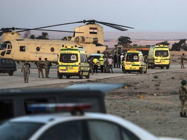 Chùm ảnh hiện trường vụ rơi máy bay Nga tại Ai Cập ảnh 7