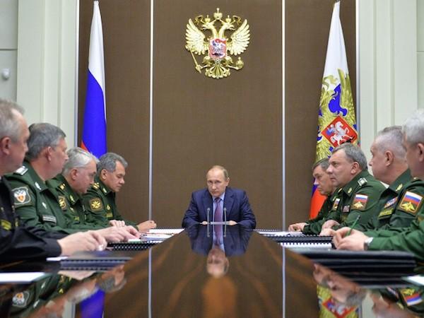 Tổng thống Putin khẳng định Nga không chạy đua vũ trang