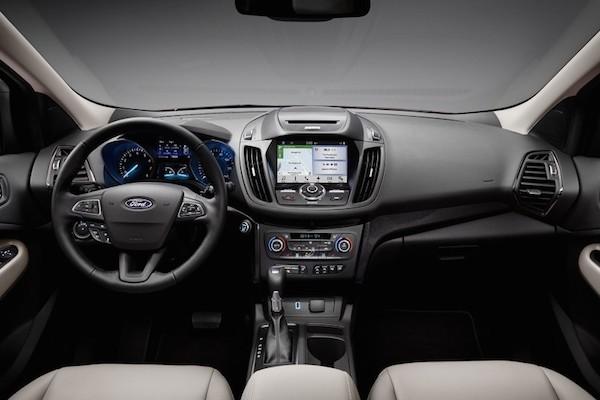 Ford Escape 2017 trình làng với nhiều cải tiến mới mẻ ảnh 3