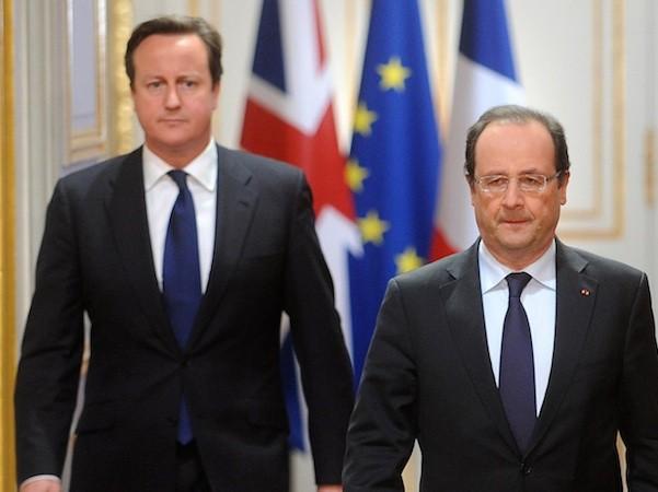 Anh và Pháp hứa sẽ hỗ trợ lẫn nhau trong chiến dịch không kích IS ở Iraq và Syria