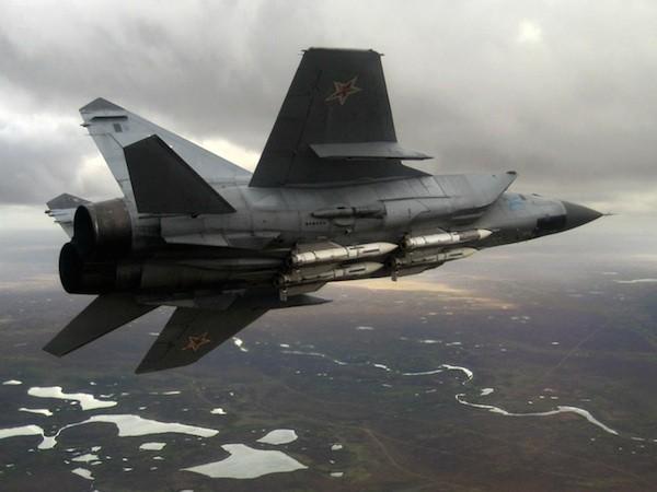 Không quân Nga tiếp nhận các chiến đấu cơ MiG-31BM mới ảnh 1