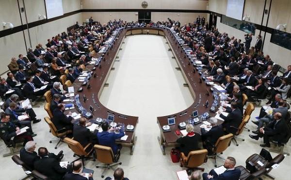 NATO và các quốc gia đối tác họp bàn tại trụ sở chính ở Brussels, Bỉ ngày 1-12
