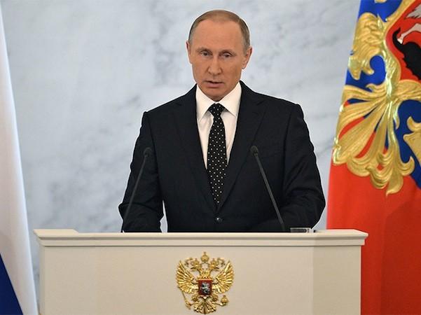 Tổng thống Putin đọc thông điệp liên bang: Thổ Nhĩ Kì sẽ hối hận vì bắn rơi máy bay Nga ảnh 1