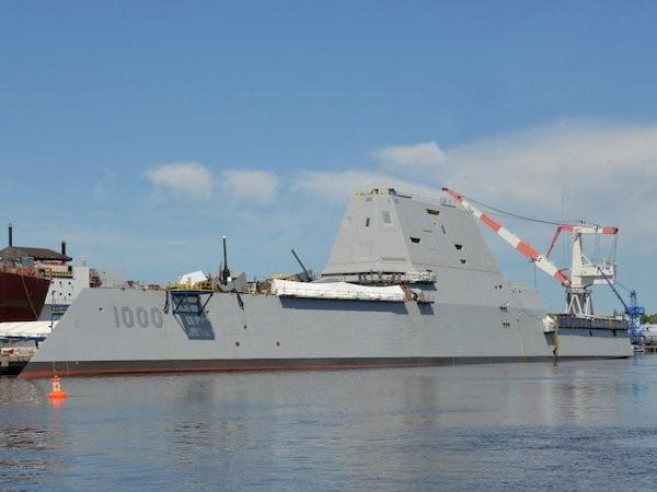 Siêu tàu khu trục USS Zumwalt của Mỹ bắt đầu chạy thử ảnh 1